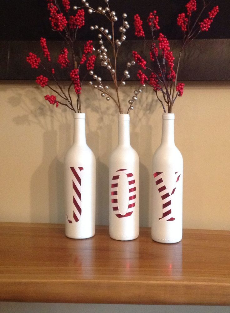 JOY Wine bottles