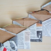 Make Envelopes from Magazine Pages