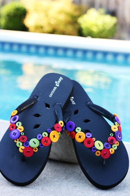 Make Your Flip-Flops Stand out From the Crowd
