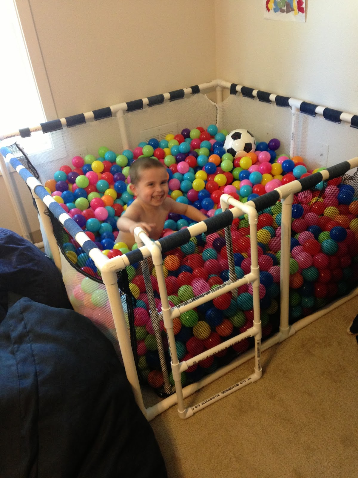 Make a ball pit for your child