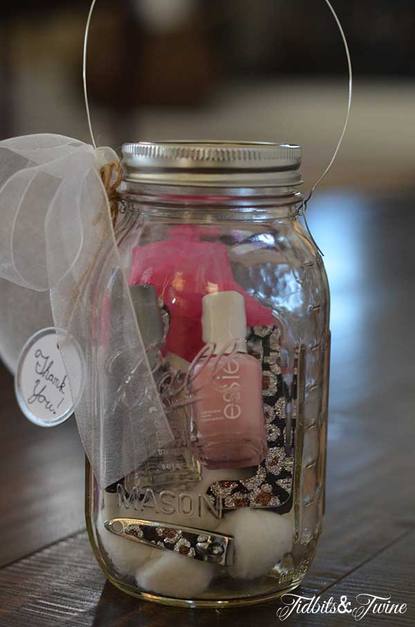 Mason Jar Manicure Set