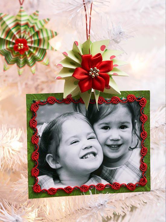 15 Amazing Diy Christmas Photo Ornaments