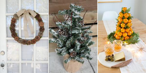 20 Diy Natural Christmas Decorations