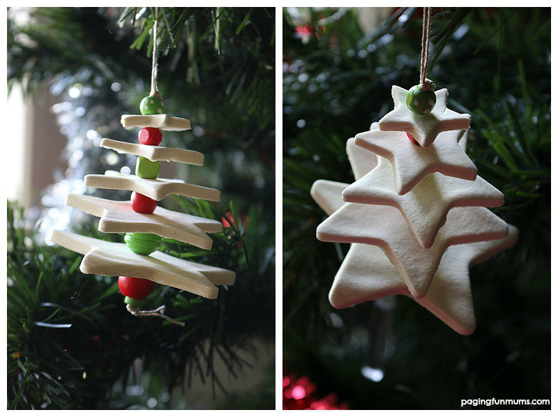 Ornaments Made from Homemade Clay