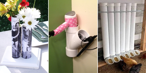20 diy projects you can make using pvc pipe for Pvc pipe craft projects