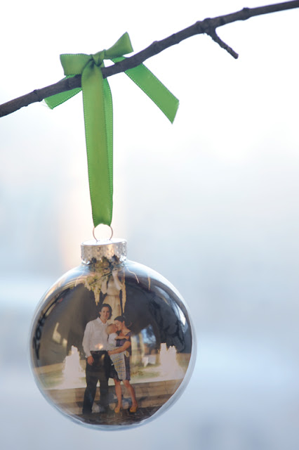 Photo Bulb Ornament