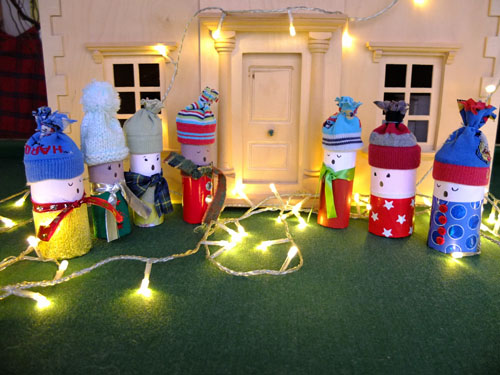 Toilet Roll Carollers