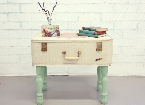 Upcycle a Suitcase into a Table