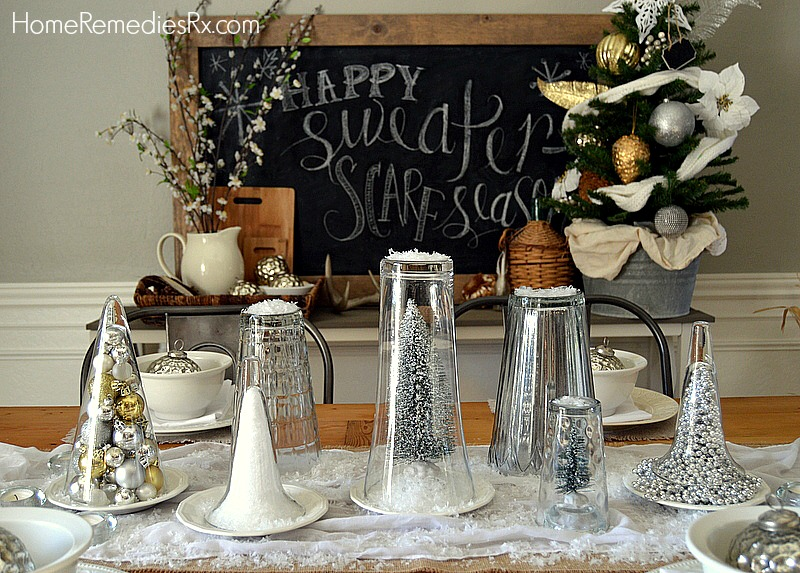 Use Glass Vases as Centerpieces