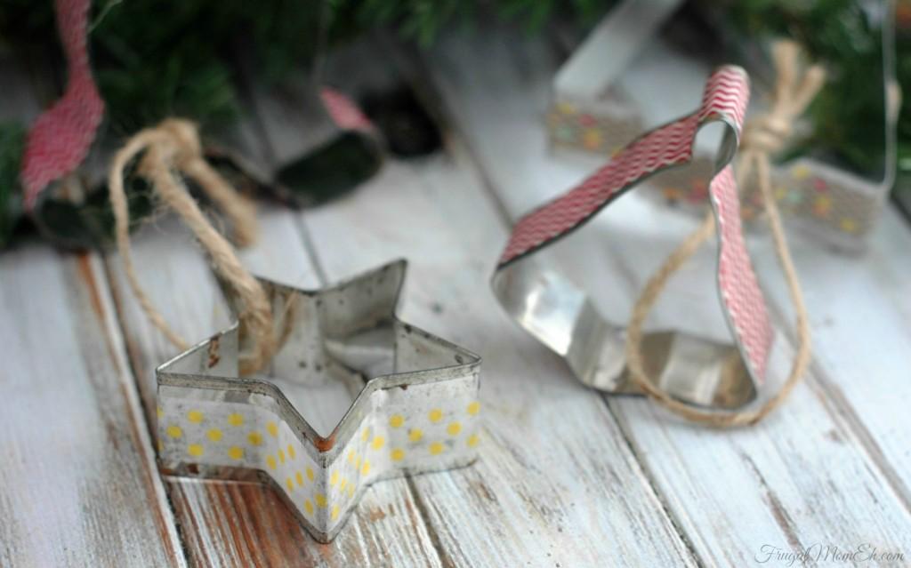 Vintage Washi Tape Ornaments