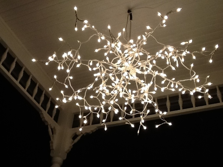 create a beautiful branch light pendent