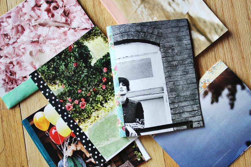 make your own pretty journals