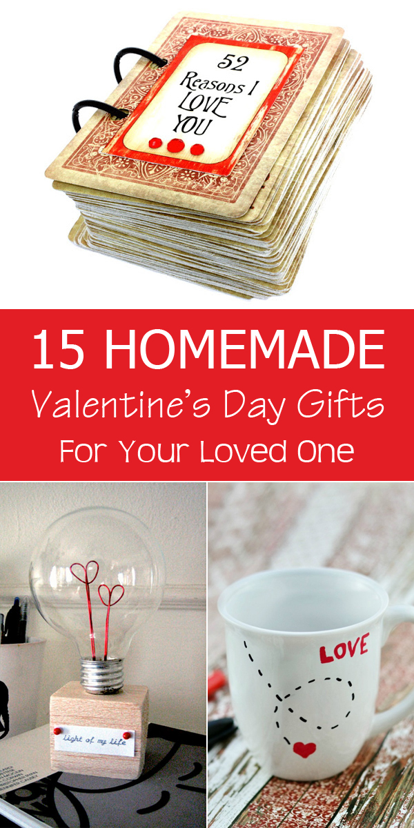 15 Homemade Valentine's Day Gifts For Your Loved One #GiftIdeas