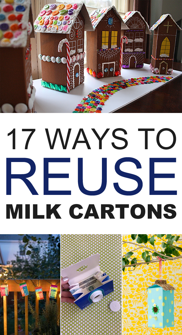 17 Creative Ways to Reuse Milk Cartons