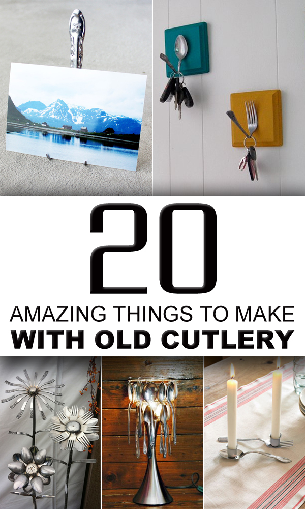 20 Amazing Things To Make With Old Cutlery