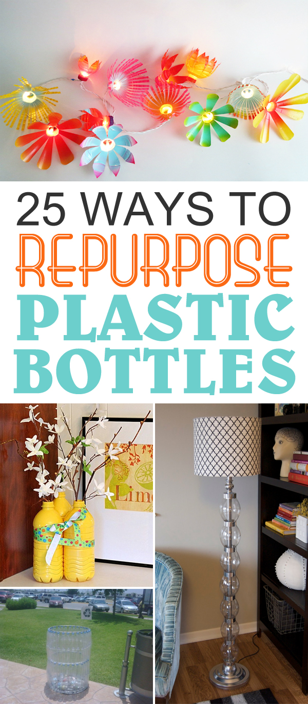 25 Ways To Repurpose Plastic Bottles Into Cute Home & Garden Accessories
