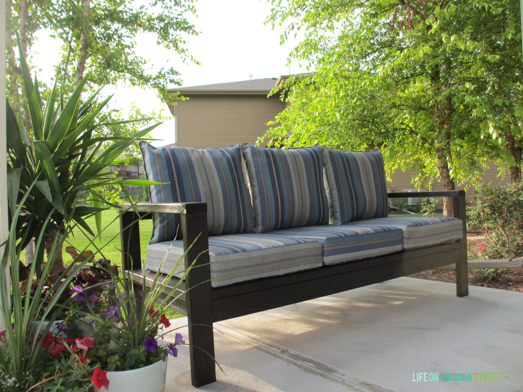 21 things you can build with 2x4s for Outdoor sofa plans