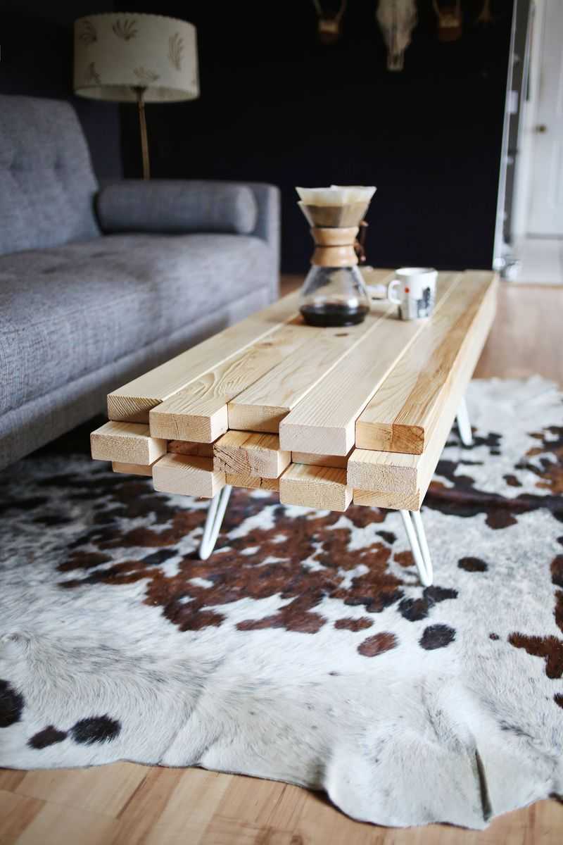 Beautiful 2×4 Coffee Table