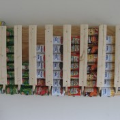 Build a Canned Food Storage Rack