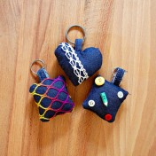 Create these springy key chains