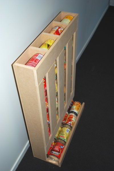 Food Storage Can Dispenser