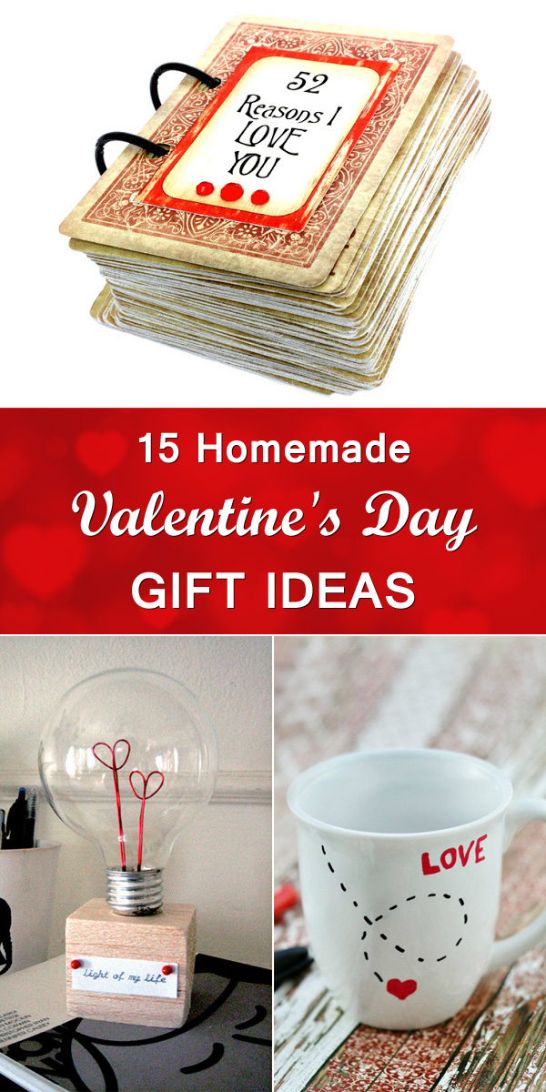 15 Homemade Valentine's Day Gift Ideas