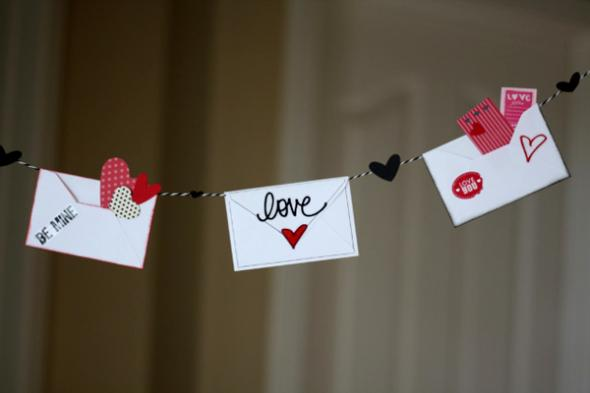 Love Letter Valentine's Day Décor