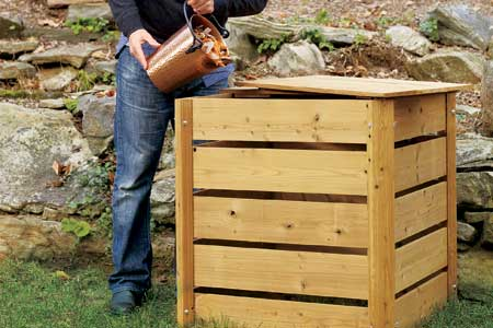 Lumber Compost Bin