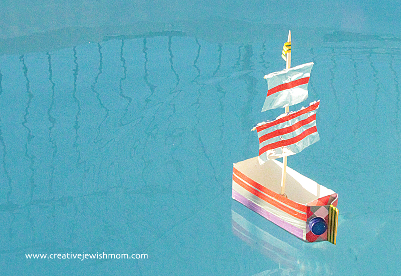 Make a Fun Sailboat Using a Milk Carton
