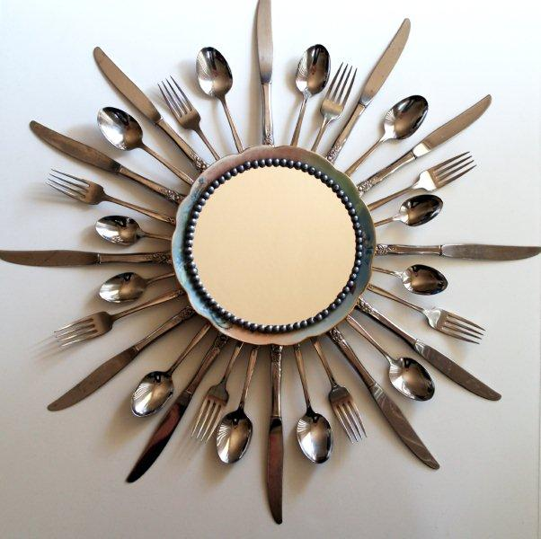 Make a fabulous starburst mirror