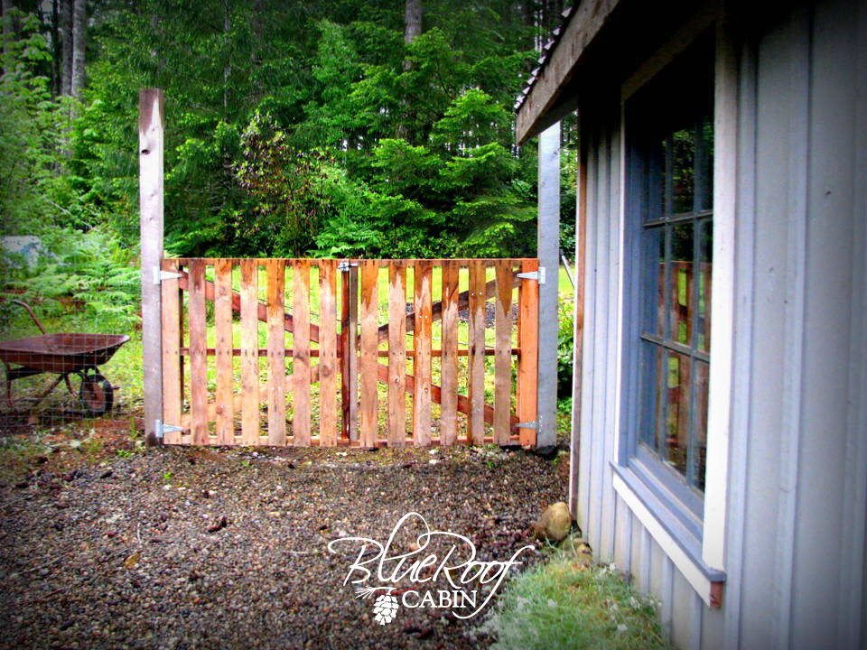 Make a gate for your garden