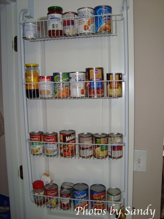 Over the door pantry wire shelf