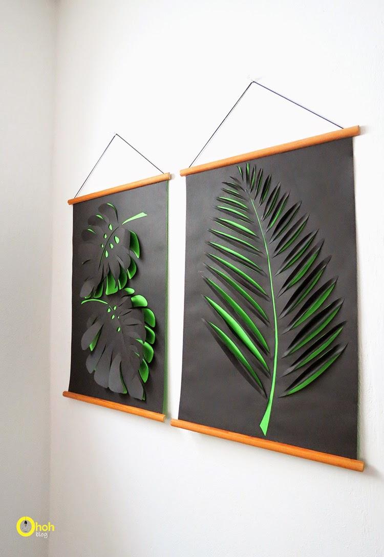 Paper botanical art