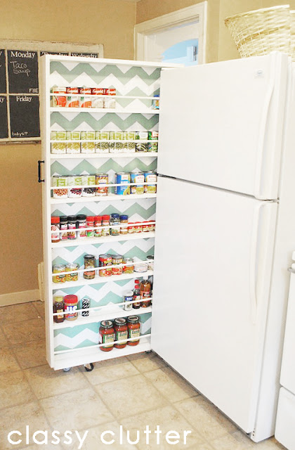 Roller Canned Food Cabinet