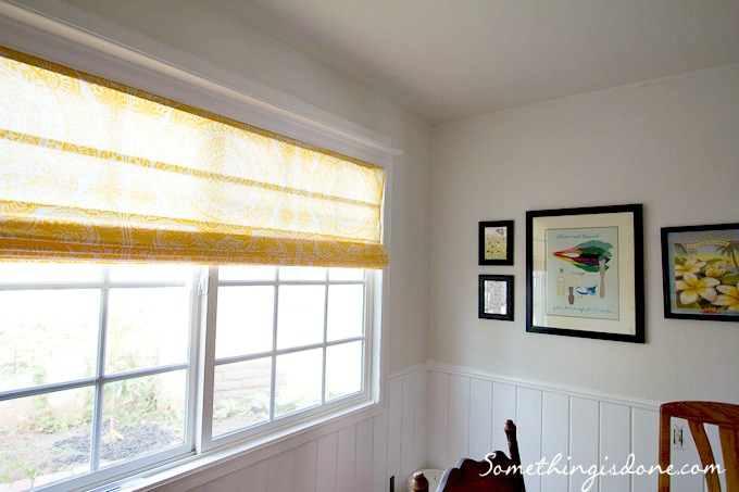 12 stylish diy roman shades that will make your windows for Roman blinds for large windows
