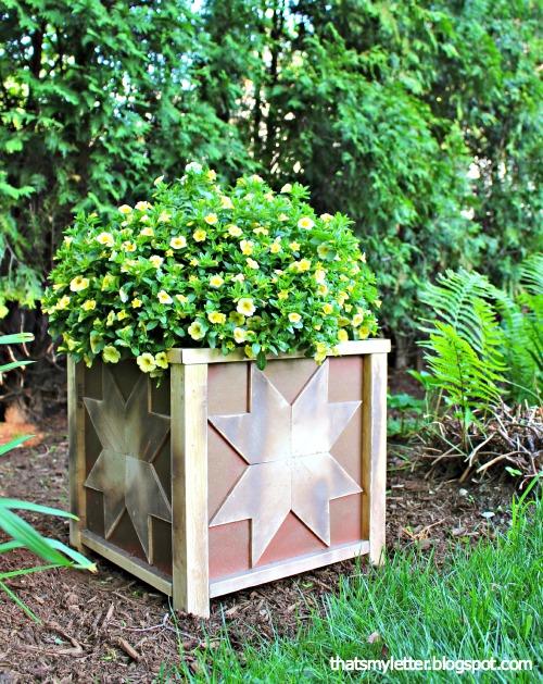 Star Planter Box design
