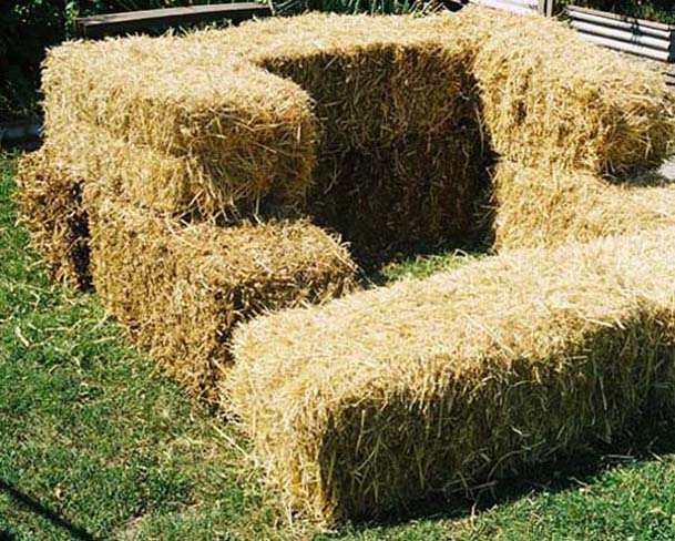 Straw Compost Bins