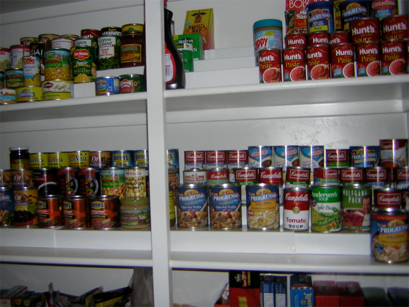 The Can Stacker Shelf