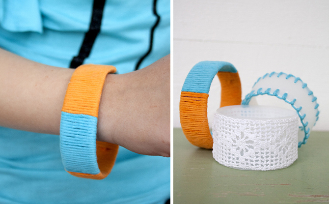Plastic Bottle Bracelets