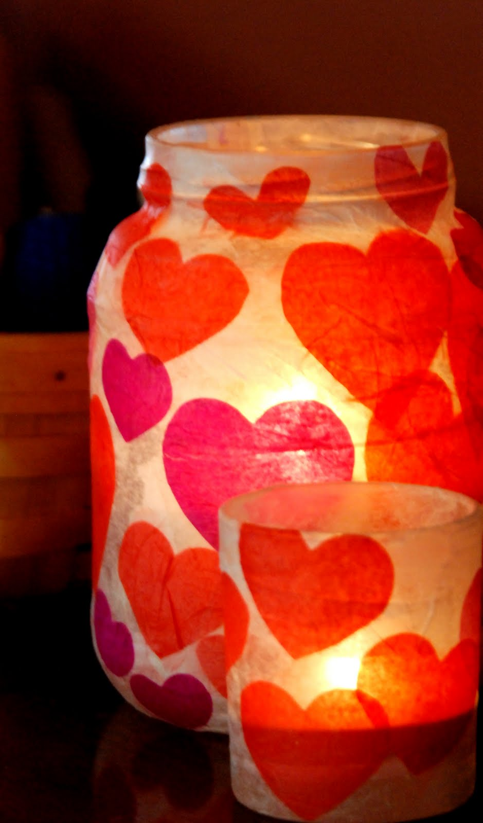 Valentines Votives