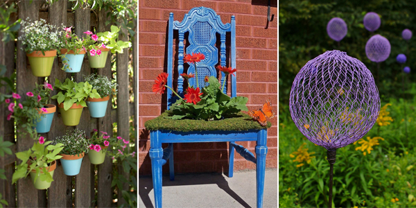 10 Creative Ways to Add a Little Beauty To Your Garden