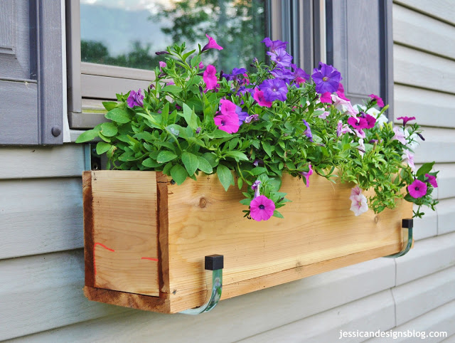 Window boxes are easy to make and you can grow everything in them