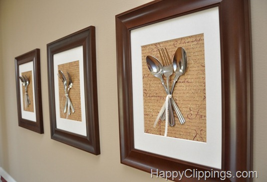 create some art for your dining room or kitchen