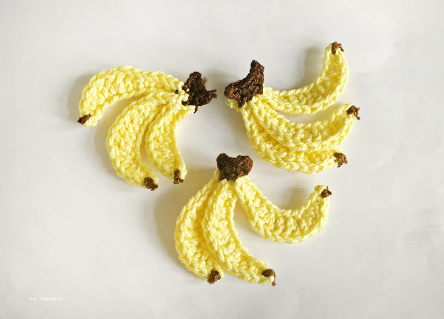 crochet bananas