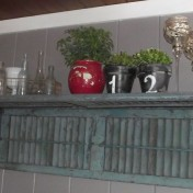 make a shutter shelf
