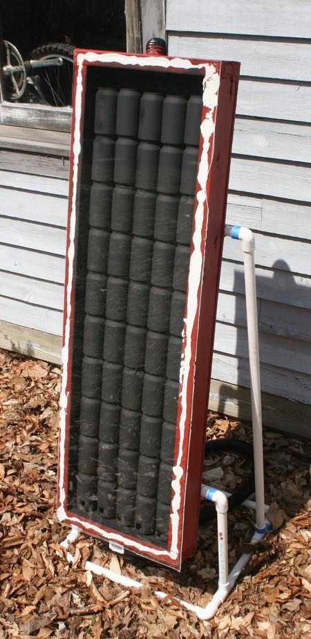 Solar Heater Using Soda Cans