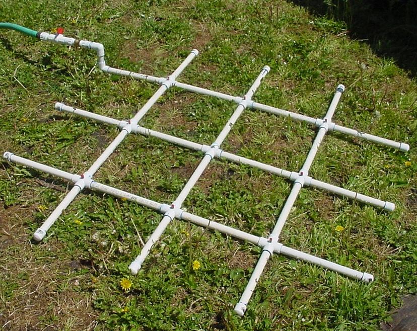 PVC Watering Grid