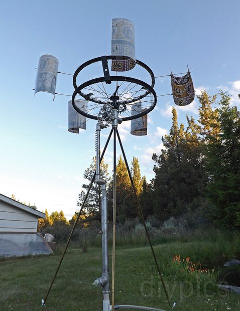 Wind Powered Water Pump