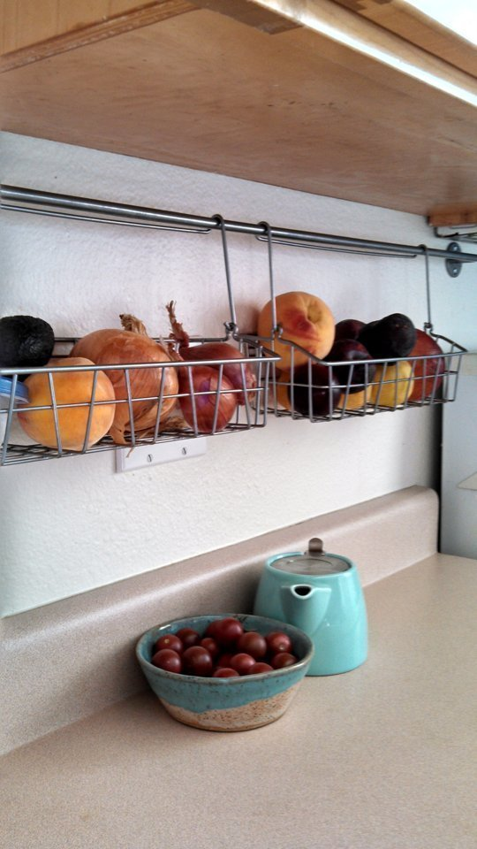 15 clever diy hanging storage solutions and ideas Diy under counter storage