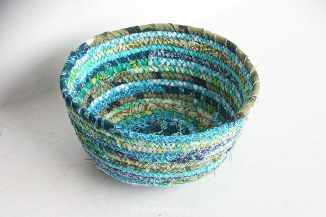 fabric scrap bowl